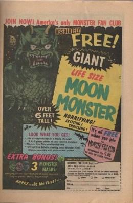 Ad It Up: Monster Fan Club