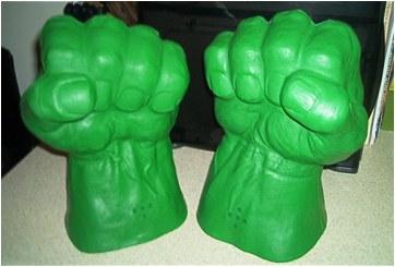 Hulk hands smash