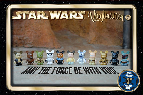 StarWars.com shows off Disney's new Star Wars Vinylmation figures.