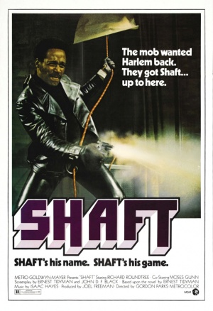 Movie poster for SHAFT