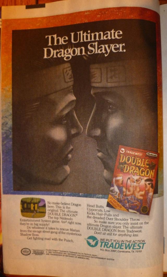 Double Dragon Nes Ad