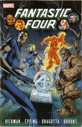 hickman fantastic four volume 4