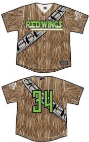 rochester redwings star wars jerseys