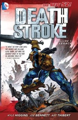 new 52 deathstroke volume 1 legacy