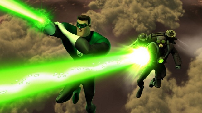green lantern the animated series steampunk