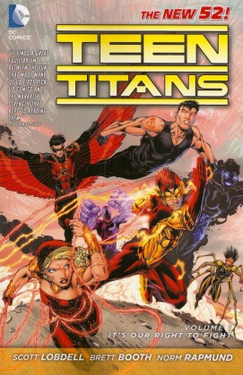 teen titans vol 1 its our right to fight