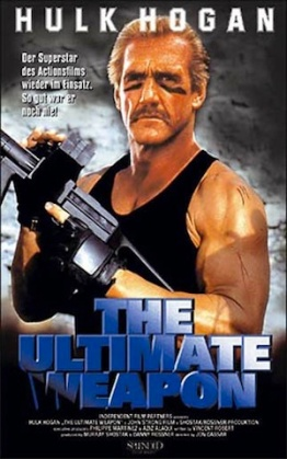 the ultimate weapon-german poster