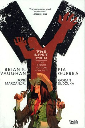 Y The Last Man Deluxe Volume 3