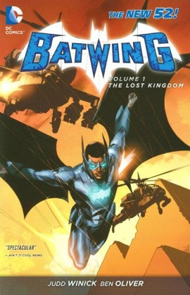 batwing volume 1 the lost kingdom