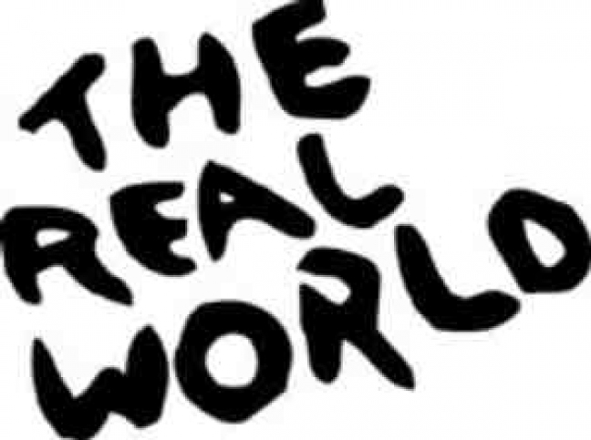 real world logo