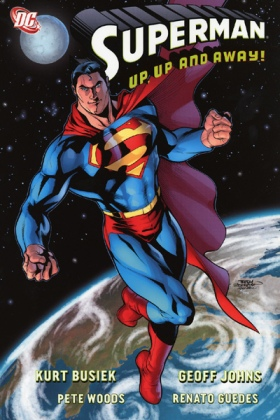 superman up up and away