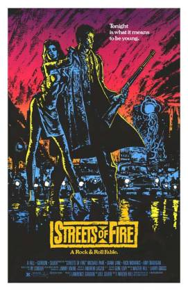streets of fire poster