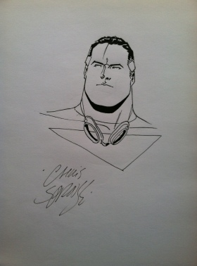 tom strong sketch chris sprouse