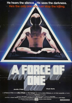 a force of one poster