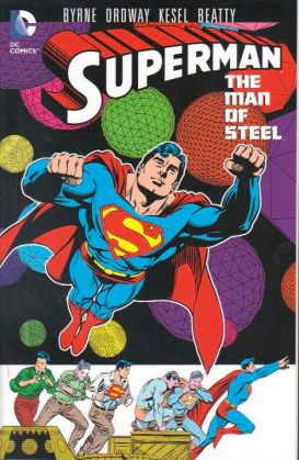 superman man of steel vol 7