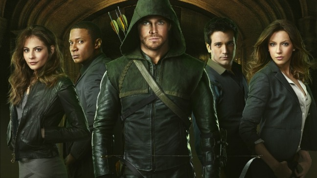 Arrow season one cast