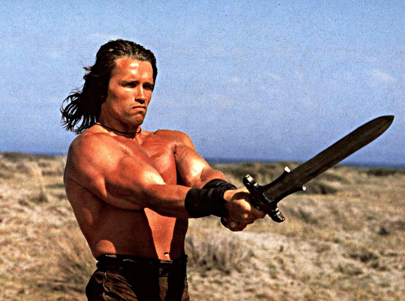 Schwarzenegger nackt nude tube