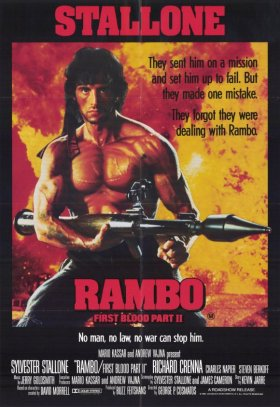 rambo first blood part 2 poster