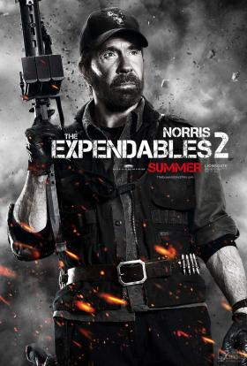 expendables 2 chuck norris poster