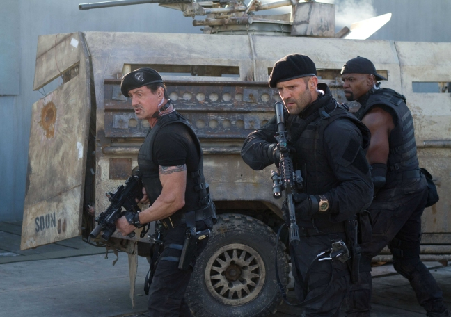 expendables 2 stallon crews statham