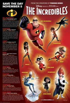 Incredibles poster 2