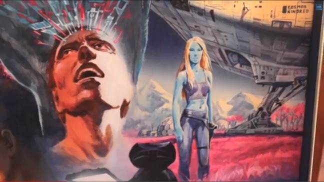 james cameron poster blue lady