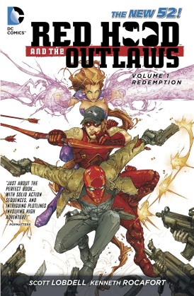 red hood and the outlaws vol 1 redemption
