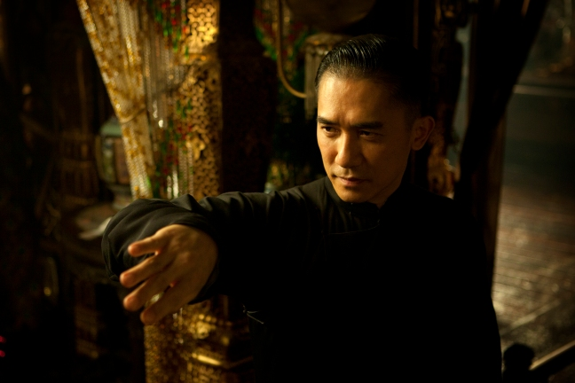 the grandmaster Tony Leung Chiu Wai
