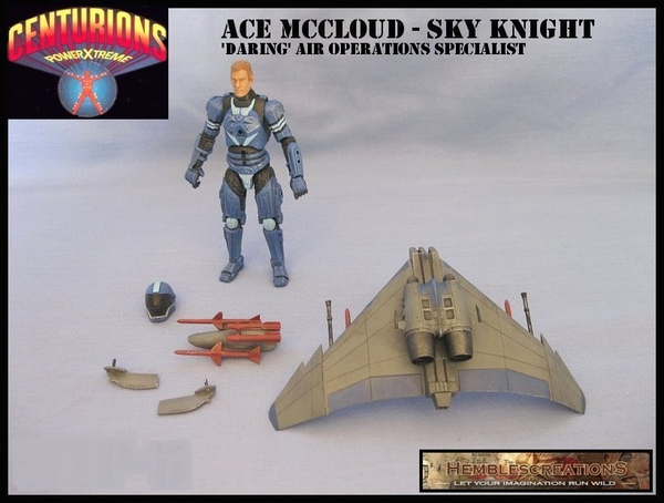 ace mccloud centurions custom