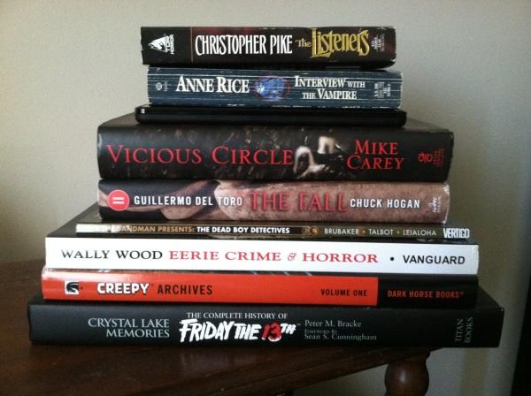 ambitious halloween reading list 2013