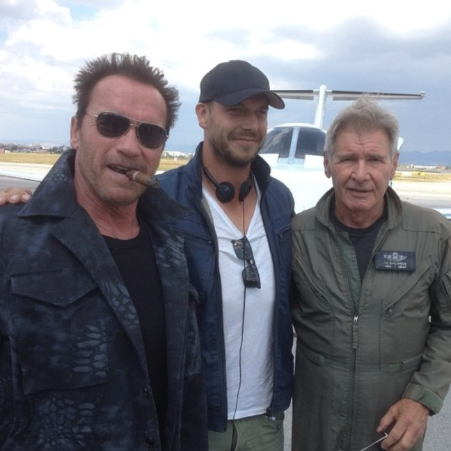 expendables 3 schwarzenegger hughes and ford