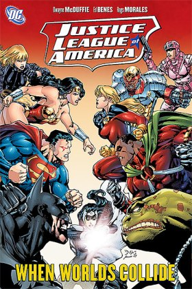 justice league of america when worlds collide