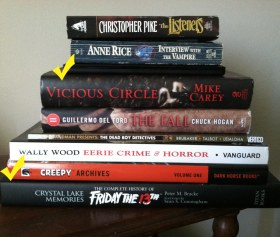 ambitious halloween reading list 2013