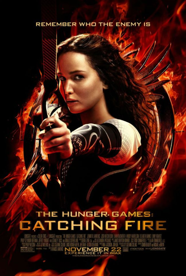 hunger games catching fire poster full