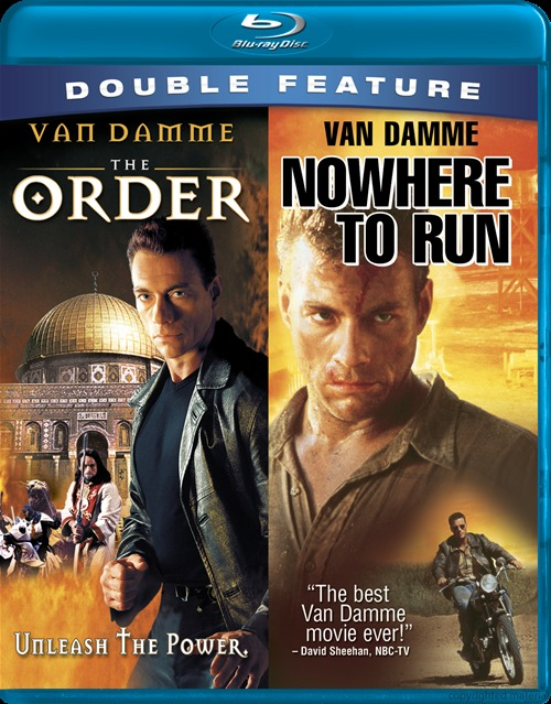 jcvd double feature the order nowhere to run