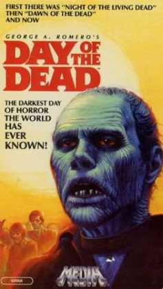 day of the dead VHS