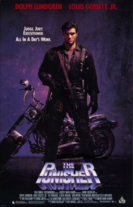 The Punisher 1989 poster