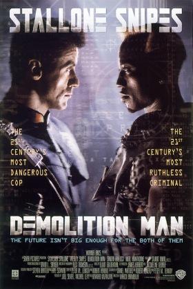 demolition man poster
