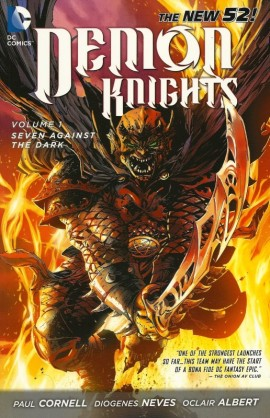 demon knights vol 1 seven against the dark