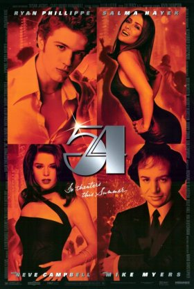 54 movie poster
