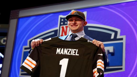 manziel browns draft