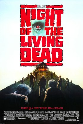 night of the living dead 1990 poster