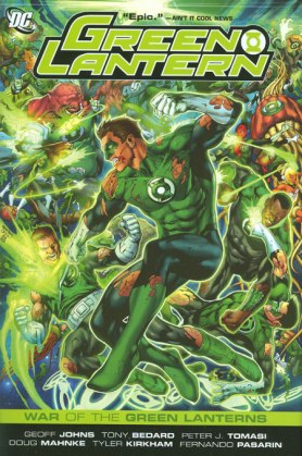 green lantern war of the green lanterns