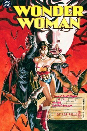 wonder woman bitter rivals