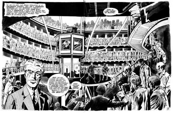 in the days of the mob Jack Kirby spread