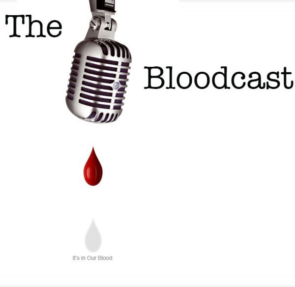the bloodcast logo