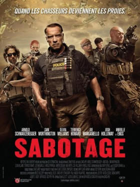 sabotage french poster