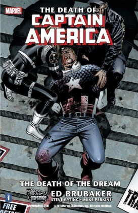 death of captain america vol 1