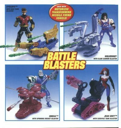 x-men classics battle blasters