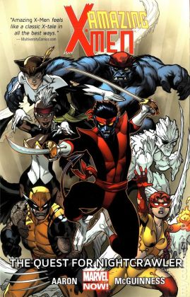 amazing x-men quest for nightcrawler